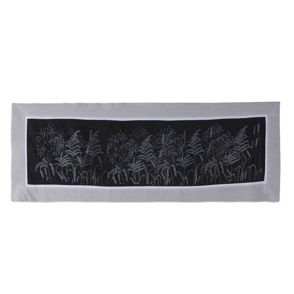 Nature Motif 100% Cotton Table Runner by Novica